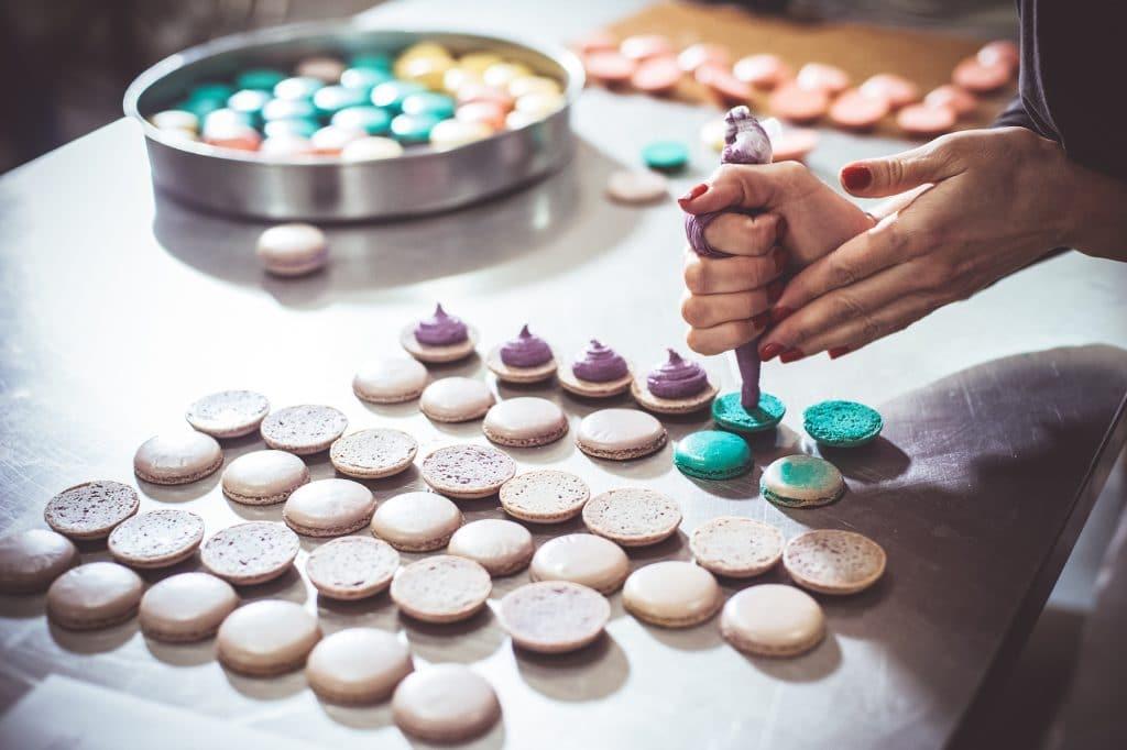 Fabrication des macarons : le garnissage